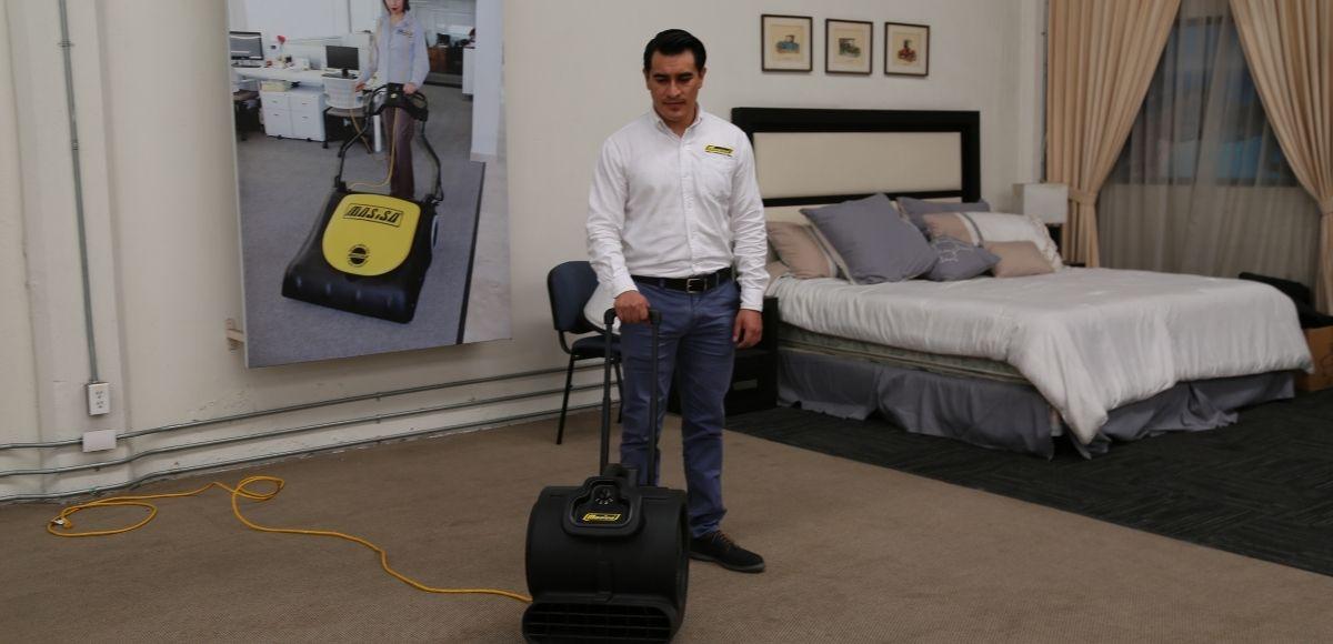 Medidas y equipos para desinfectar un hotel