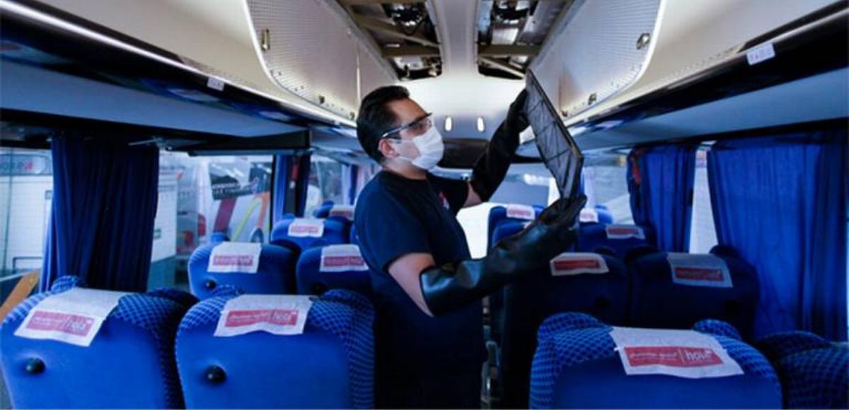 ¿Cómo desinfectar el transporte público?