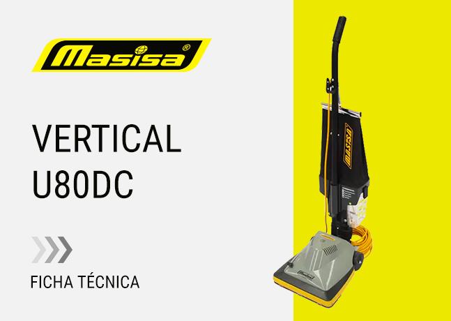 Especificaciones técnicas U80DC