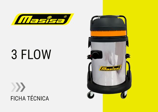 Especificaciones técnicas 3 Flow