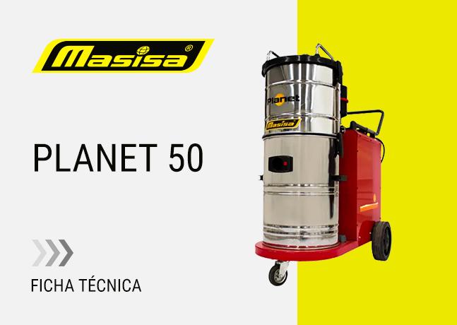 Especificaciones técnicas Planet 50
