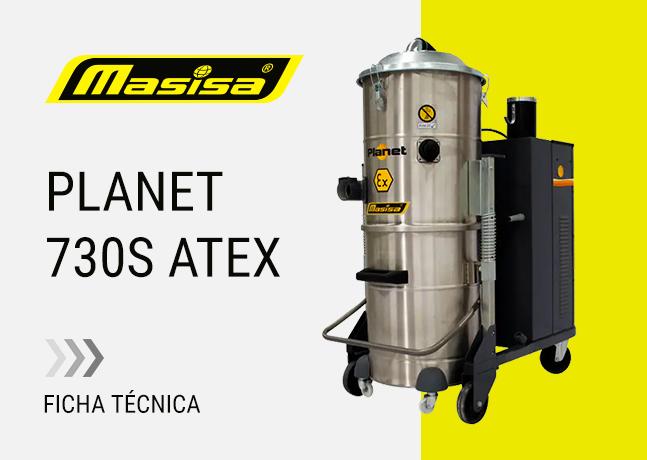 Especificaciones técnicas Planet 730S ATEX