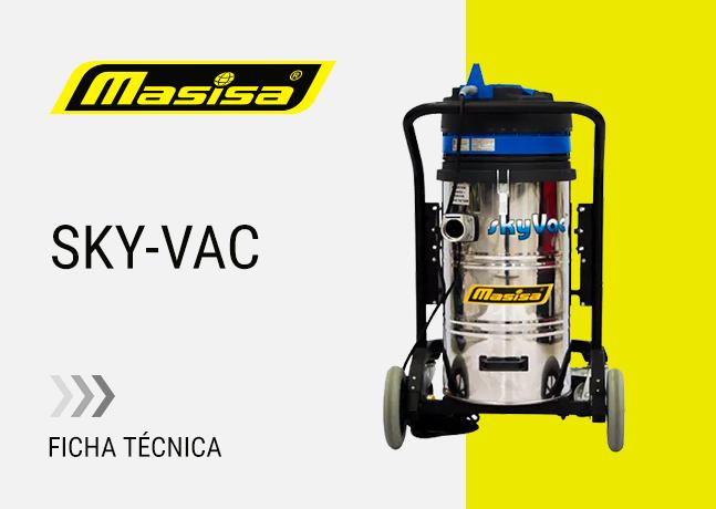 Especificaciones técnicas Sky-Vac