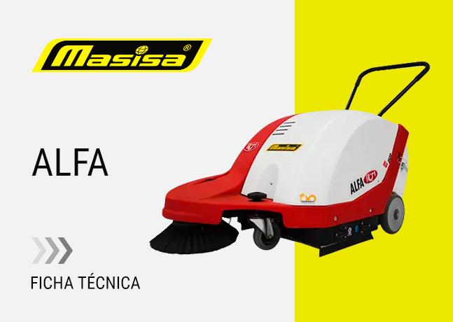 Especificaciones técnicas ALFA