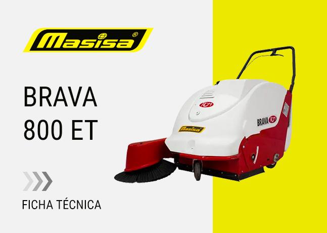 Especificaciones técnicas BRAVA 800 ET