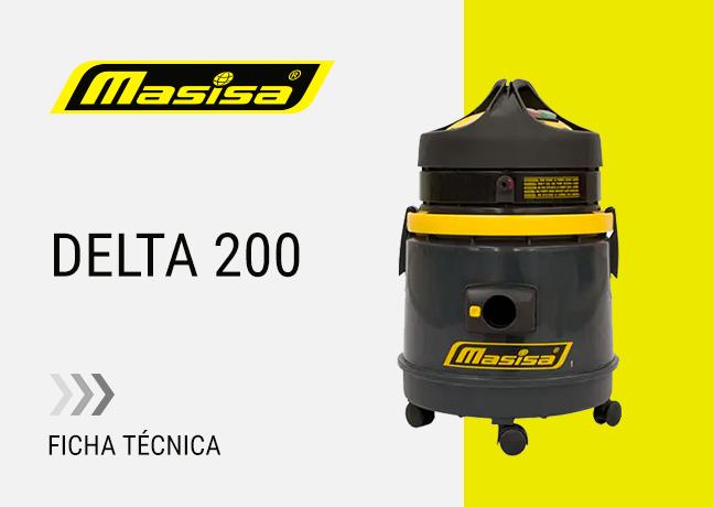 Especificaciones técnicas Delta 200