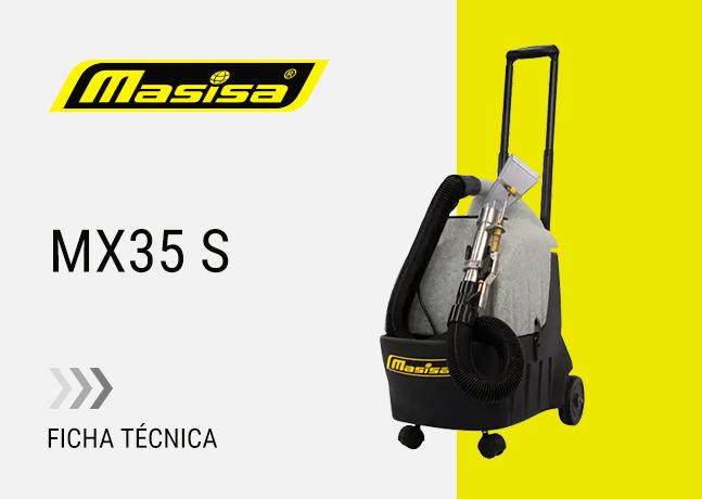 Especificaciones técnicas MX35 S