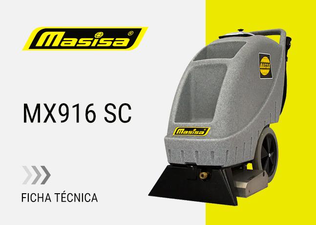 Especificaciones técnicas MX916 SC