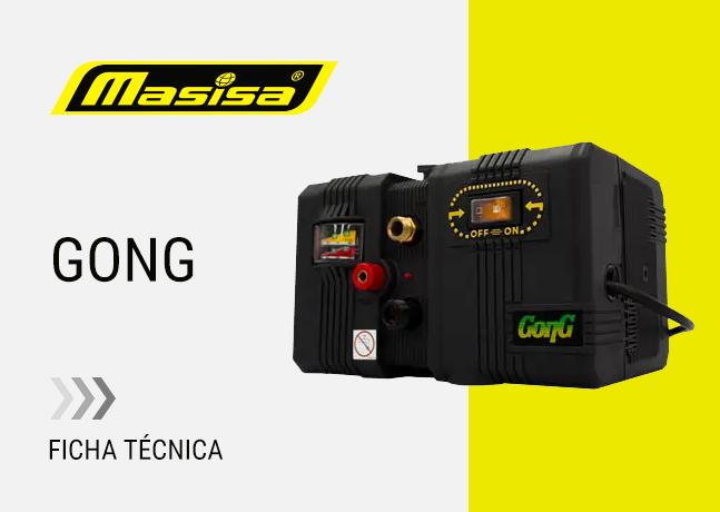 Especificaciones técnicas Gong