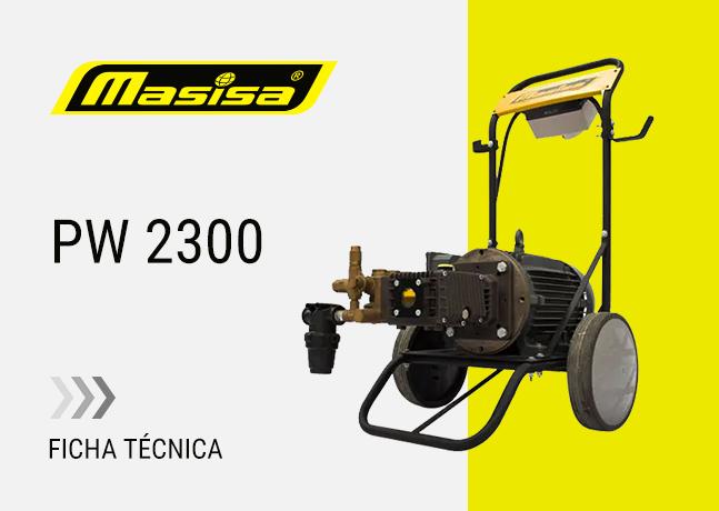 Especificaciones técnicas PW 2300