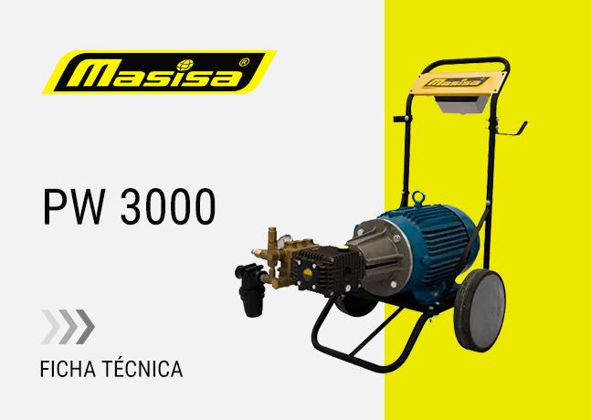 Especificaciones técnicas PW 3000