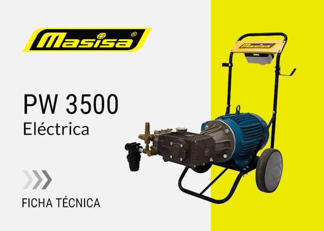 Especificaciones técnicas PW 3500 <span>Eléctrica</span>
