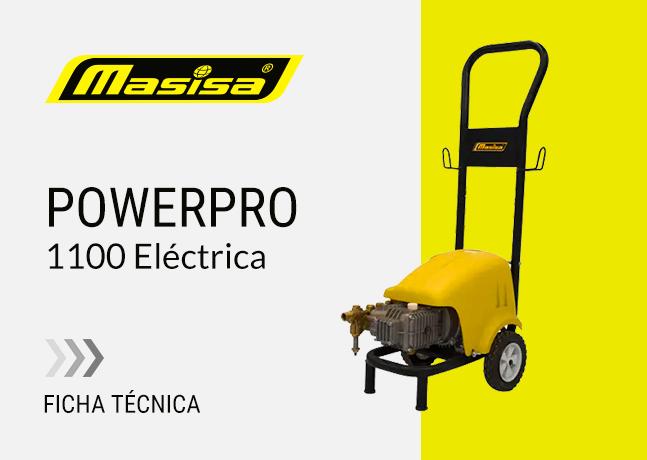 Especificaciones técnicas PowerPro 1100 <span>Eléctrica</span>