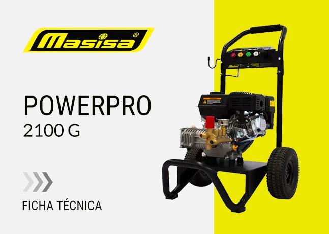 Especificaciones técnicas PowerPro 2100 G