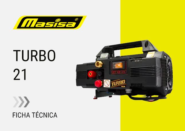 Especificaciones técnicas Turbo 21