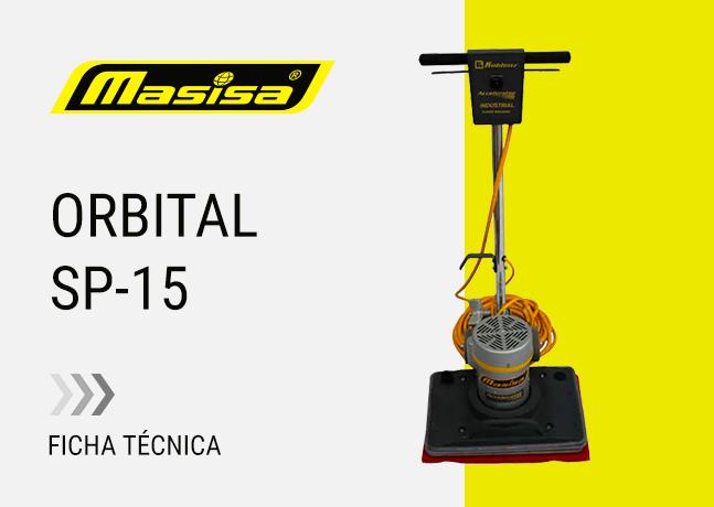 Especificaciones técnicas Orbital SP-15