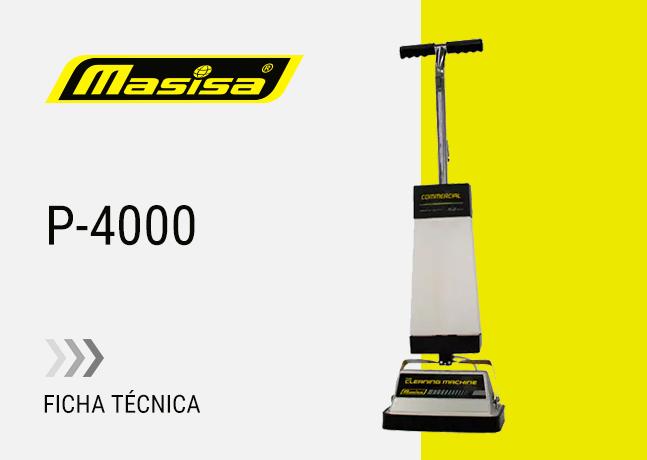 Especificaciones técnicas P-4000
