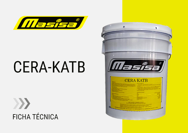 Especificaciones técnicas CERA KATB