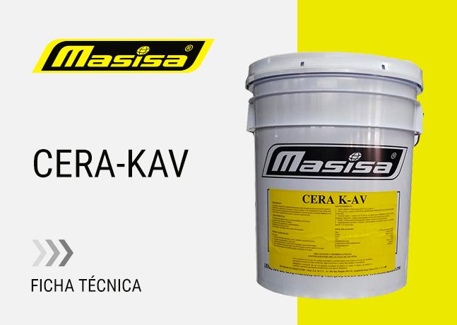 Especificaciones técnicas CERA K-AV
