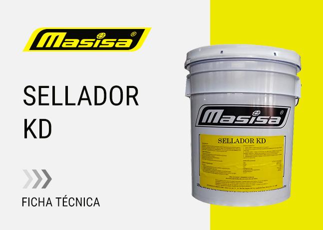 Especificaciones técnicas Sellador KD