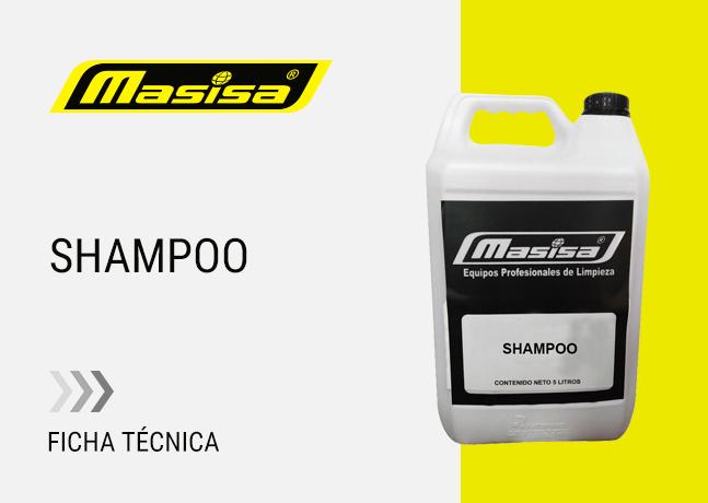 Especificaciones técnicas Shampoo