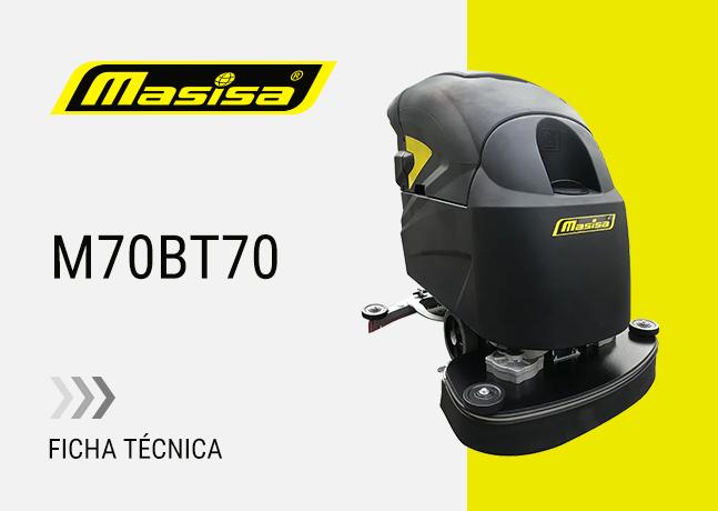 Especificaciones técnicas M70BT70