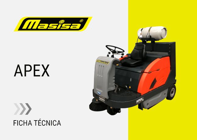 Especificaciones técnicas APEX 58